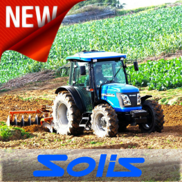 We Are Solis Compact Tractors Main Dealers