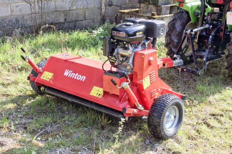 Winton WAT120 ATV Flail Mower for sale at Kearsley Tractors, North Yorkshire