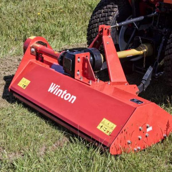 Winton WFL125 Flail Mower for sale at Kearsley Tractors, North Yorkshire.