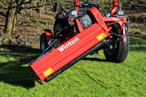 Winton WVF130 Verge Flail Mower for sale at Kearsley Tractors, North Yorkshire.