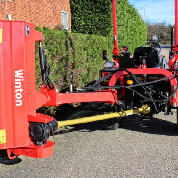 Winton WVF150 Verge Flail Mower for sale at Kearsley Tractors, North Yorkshire